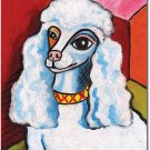 "Poodle 28"" x 40"" Toland Art Banner - Pawcasso"