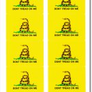Gadsden 50 Count Sticker Pack