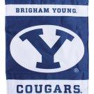"Brigham Young University (BYU)  - 13""x18"" 2-Sided Garden Banner"