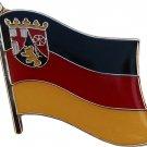 Rhineland-Palatinate Flag Lapel Pin