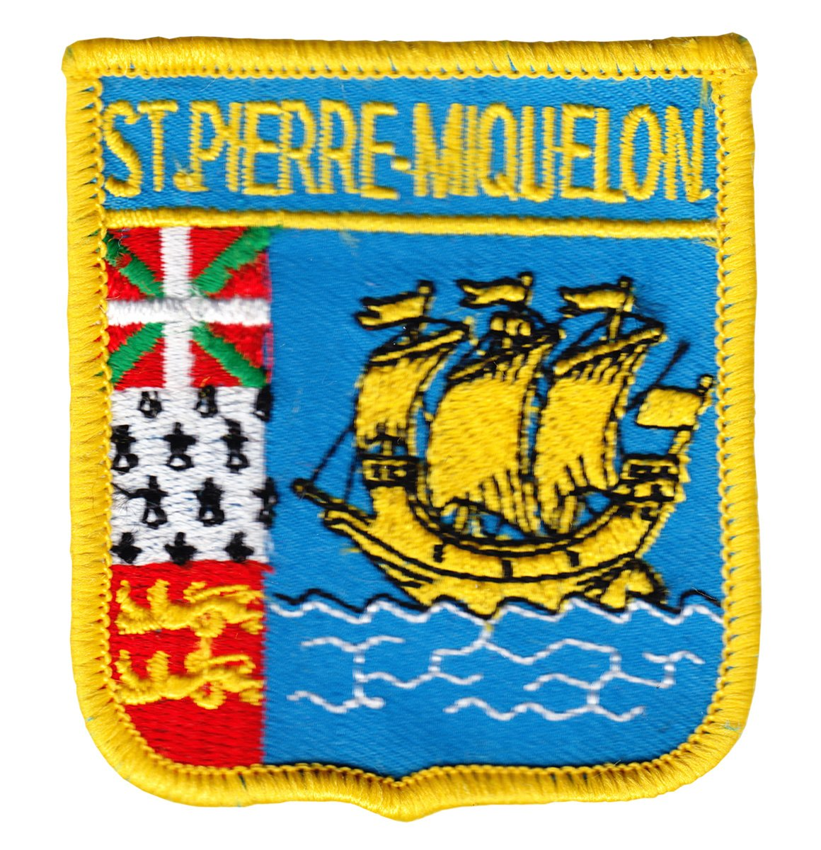 St. Pierre and Miquelon Shield Patch