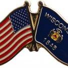 Wisconsin Friendship Pin