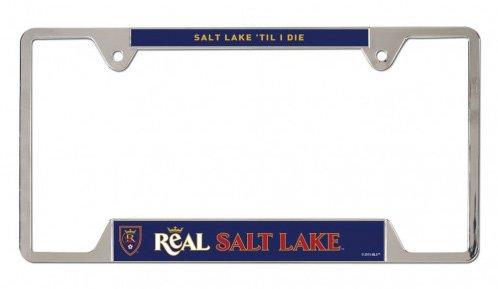 Real Salt Lake Metal License Plate Frame