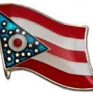 Ohio Flag Lapel Pin