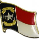 North Carolina Flag Lapel Pin