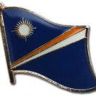 Marshall Islands Flag Lapel Pin