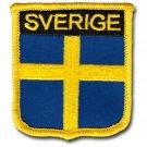 Sweden (Sverige) Shield Patch