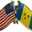 St. Vincent and the Grenadines Friendship Pin