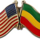 Ethiopia Friendship Pin (Plain)