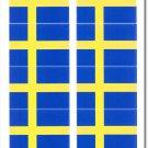Sweden 50 Count Sticker Pack