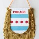 Chicago Window Hanging Flag (Shield)