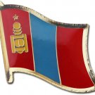 Mongolia Flag Lapel Pin