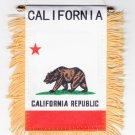 California Window Hanging Flag
