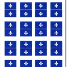 Quebec 50 Count Sticker Pack