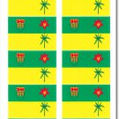 Saskatchewan 50 Count Sticker Pack