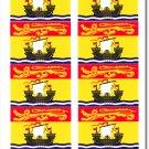 New Brunswick 50 Count Sticker Pack