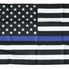 "Thin Blue Line - 12""X18"" Nylon Flag"