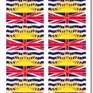British Columbia 50 Count Sticker Pack