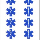Emergency Medical Services (EMS) 50 Count Sticker Pack