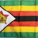 """Zimbabwe - 12""""X18"""" Nylon Flag"""