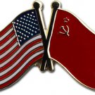 USSR Friendship Lapel Pin