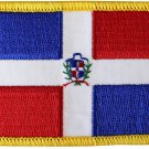 Dominican Republic Rectangular Patch