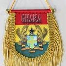 Ghana Window Hanging Flag (Shield)