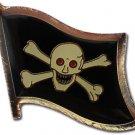 Jolly Roger Lapel Pin (Red Eyes)
