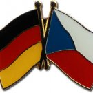Germany Czech Republic Friendship Pin