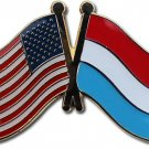 Luxembourg Friendship Lapel Pin
