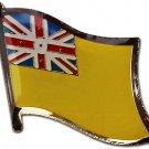 Niue Flag Lapel Pin