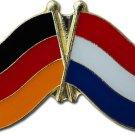 Germany Netherlands Friendship Lapel Pin