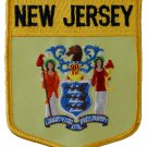 New Jersey Shield Patch