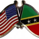 St. Kitts and Nevis Friendship Pin
