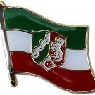 North Rhine-Westphalia Flag Lapel Pin