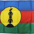 "New Caledonia - 12""X18"" Nylon Flag"