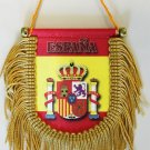 Spain Window Hanging Flag (Shield)