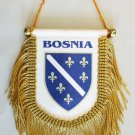 Bosnia (1992-1998) Window Hanging Flag (Shield)