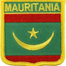 Mauritania Shield Patch (2017)