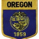 Oregon Shield Patch