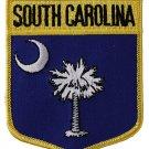 South Carolina Shield Patch