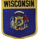 Wisconsin Shield Patch