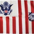 "Coast Guard Ensign - 15""X24"" Nylon Flag"