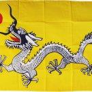 Yellow Dragon - 3'X5'  Polyester Flag