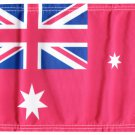 "Australia (Red Ensign) 5.75"" x 8"" Motorcycle Flag"