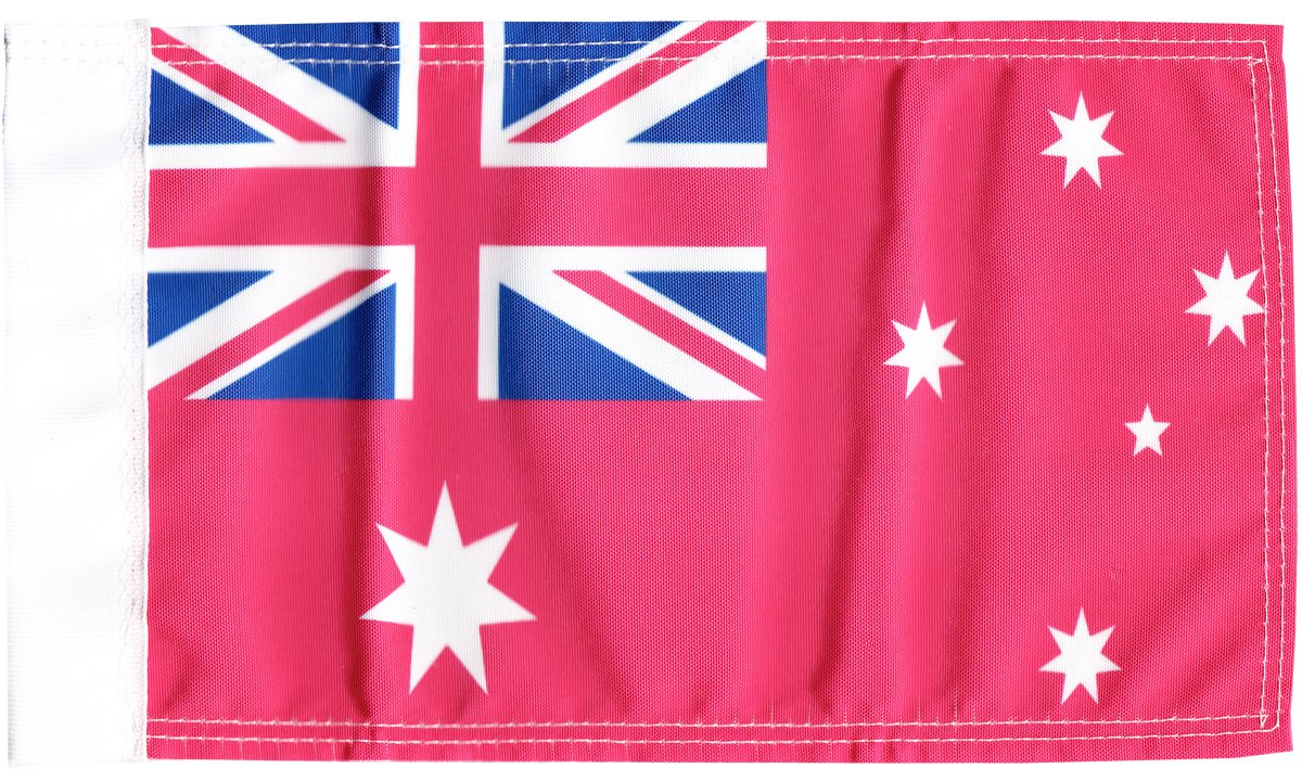 """Australia (Red Ensign) 9"""" x 13"""" Motorcycle Flag"""