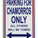 Northern Marianas Parking Sign