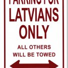 Latvia Parking Sign