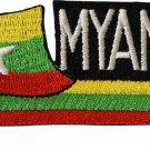 Myanmar Cut-Out Patch