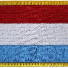 Luxembourg Rectangular Patch